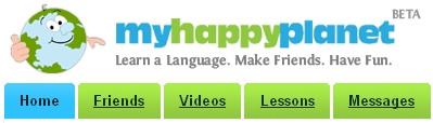 myhappyplanet - This is the banner of the online community--myhappyplanet.com