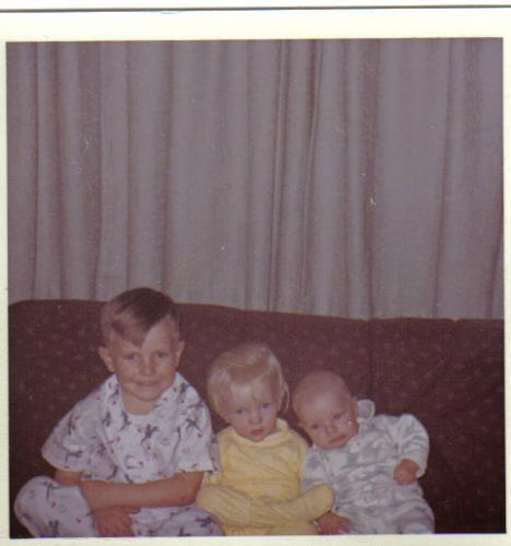 Big Brother, Sis and Me... 1965 - This is how we looked so long ago...