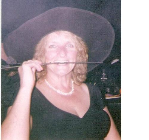 mom - Her at Halloween. she's single