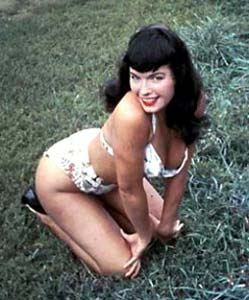 Bettie Page - Just a picture of Bettie Page