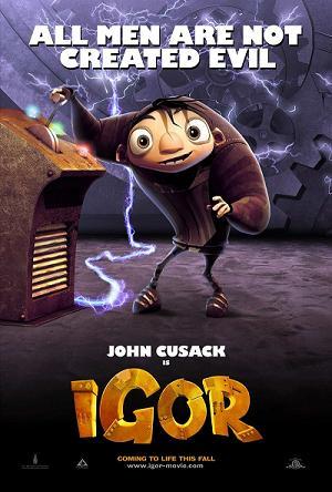 Igor - The new Disney Animated movie, Igor.