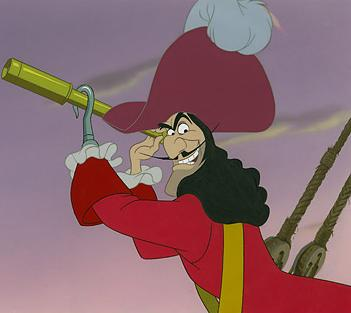 Captain Hook - Captain Hook from Peter Pan