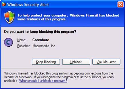 firewall - windows firewall