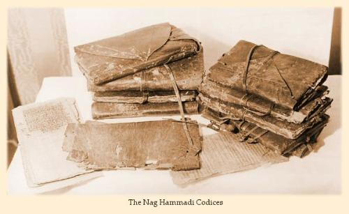 """The Nag Hammadi Codices - A collection of 13 Codices, classified by the Christian Church as gnostic or, in other words, """"heretic""""."""