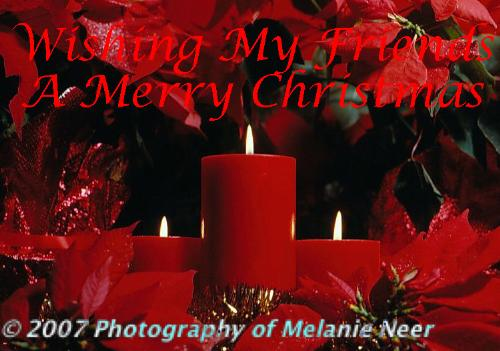 My Christmas Card To My Friends - One of my Christmas studio shots