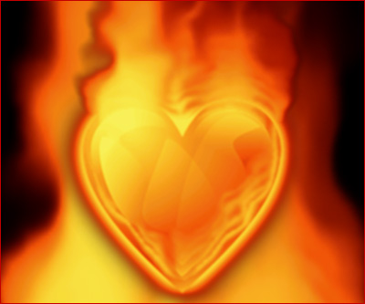 Heart On Fire - If man's life expectancy is 80 then you'll be dead at 60 but you're with the one you love most.