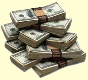 Money - stacks of money