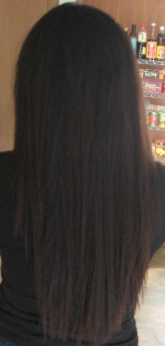 hair before my experiment! - hair