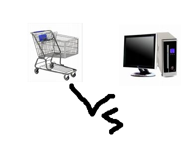 Computer vs Store - How do you prefer to shop?