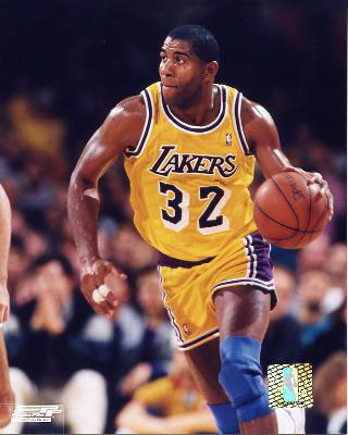 Magic Johnson - Person with Aids