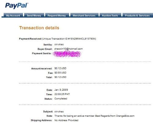 my first payout - I requested yesterday and now it is credited to my account.