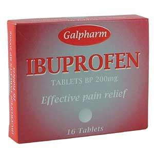 Ibuprofen tablet - Ibuprofen is used in fever,arthritis ,primary dysmenorrhoea and also as an analgesic where there is an inflammatory component.generally used in 200 mg doses..