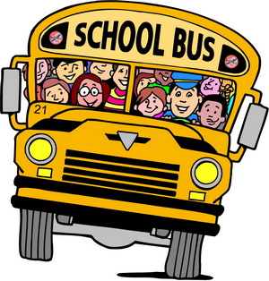 School Bus - What's the school bus for when you got a Ferrari?