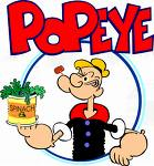 Popeye and his beloved spinach - Popeye and his spinach