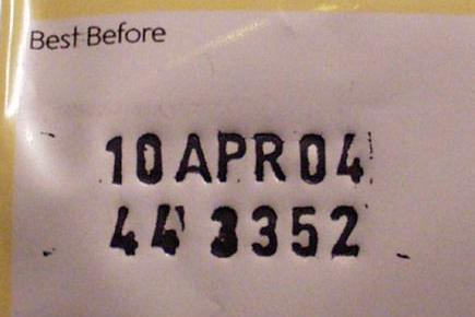 Expiry date Discovered!