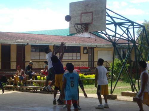 basketball - Engage your kids in sports as in playing basketball. This will make your kids stay away from drugs and other vices.