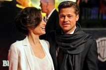 Brad and Angelina - Both Brad Pitt and his real-life partner Angelina Jolie are starring in movies that are up for awards.