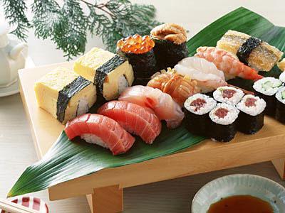 sushi - sushi japenese national dishes