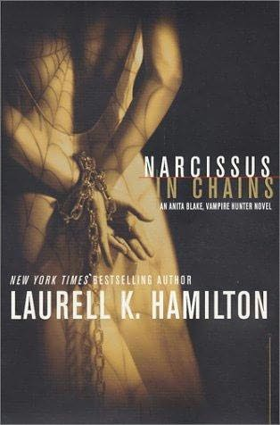 laurell k. hamilton - this is the book i'm currently reading.