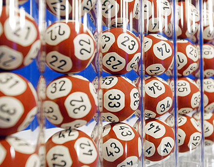 Lottery - Lottery bingo balls with numbers give you a choice to win big money & big prizes.