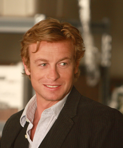 The Mentalist - The Mentalist main character Patrick Jane, played by Australian actor Simon Baker. Photo appears to be courtesy of CTV.