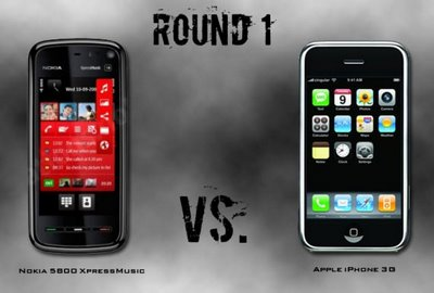 iPhone vs Nokia - now we rate