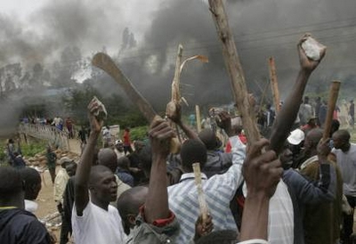 the violence of people - the kenya violence of the people there