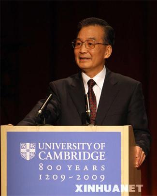 wen jiabao - a good prime minister