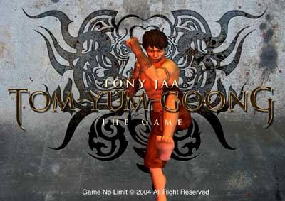 Tum Yum Goong the game screenshot - Tum Yum Goong the game screenshot shows the game menu