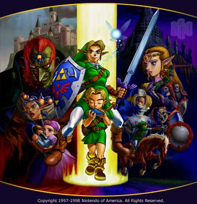 Ocarina of time picture - picture of ocarina of time.