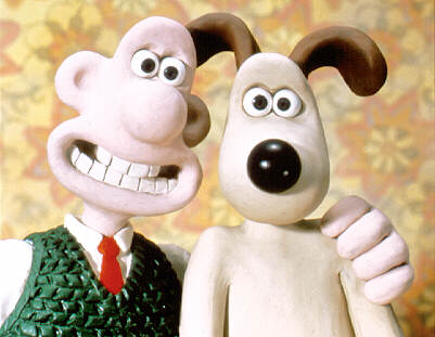 Wallace and Gromit - stop motion animation
