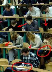Copying - Copying in Exams