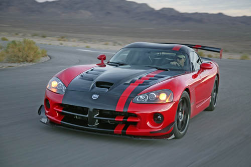 dodge viper gts - a picture of a dodge viper