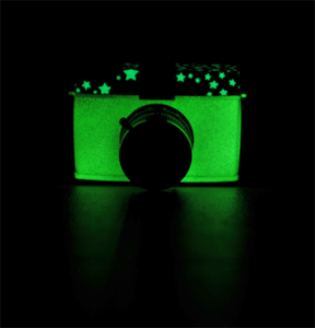 Glow In The Dark Camera - My Lomo Diana F+ Glow In The Dark edition camera