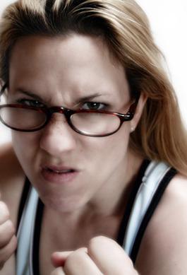 Scorned woman - Hell hath no fury like a woman scorned!