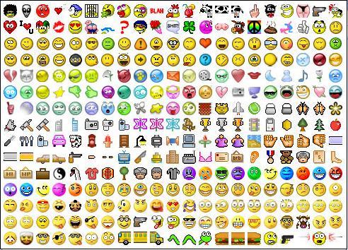 Emoticons - Emoticons!~~