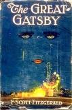 "book cover - the cover of the 'The Great Gatsby"" by Scott Fitzgerald."