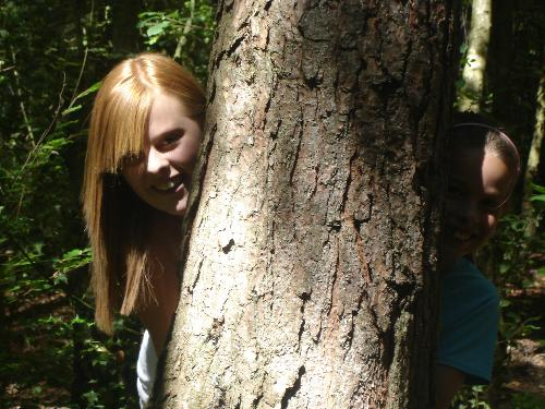My Eldest Granddaughter - This pic of my eldest Granddaughter was taken in St.Leonards Forest two years ago, when she was fifteen.