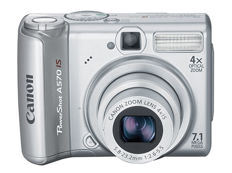 Canon Powershot A570 IS - I just bought this camera for my boyfriend for his birthday!