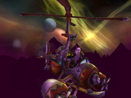 just flying - a little piece of WoW