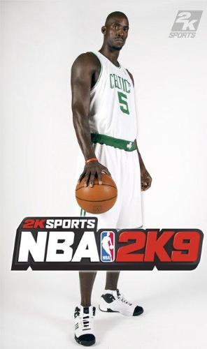 NBA 2K9 garnett - coolest game for the PS2