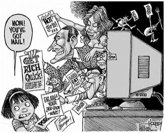 junk mail sucks - This cartoon explains exactly how i feel