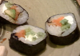 J. B. Roll - Sushi Roll - This is a picture of my favorite sushi - the J.B. Roll!
