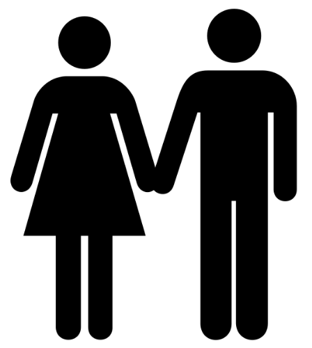 incomplete - man and woman