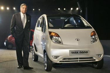 Tata nano - This is the world's cheapest car with fine features and Mr. Ratan Tata.