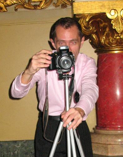 Me, taking photos - Me, as a dedicate photographer, composing a photo.