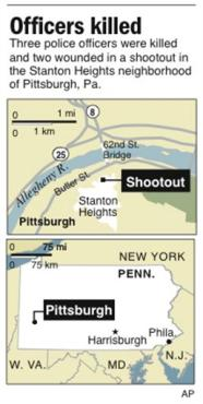Stanton Heights Map - This is where the shooting happened. This gives you a little bit of a clearer view of where it happened in the city.
