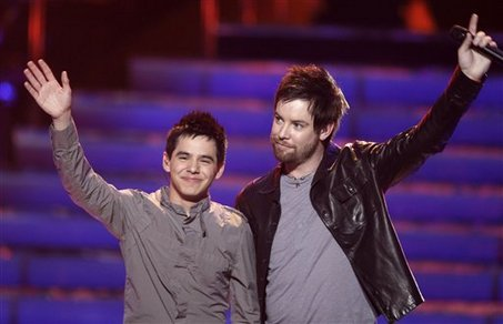 David Cook and David Archuleta - May 16, 2009