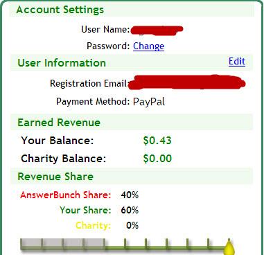 account balance in answerbunch - account balance in answerbunch.