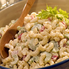 Macaroni Salad - Its delicious...hmmm...yummy!